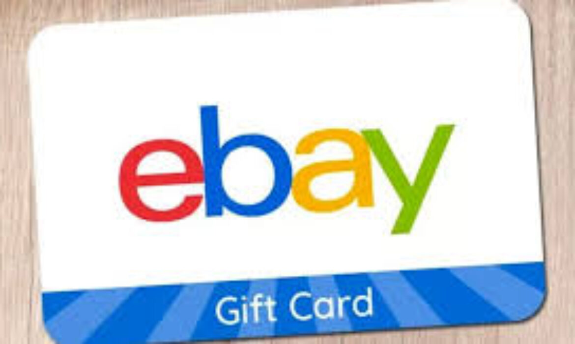 What You Should Know About eBay Gift card
