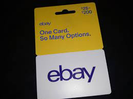 about eBay gift card