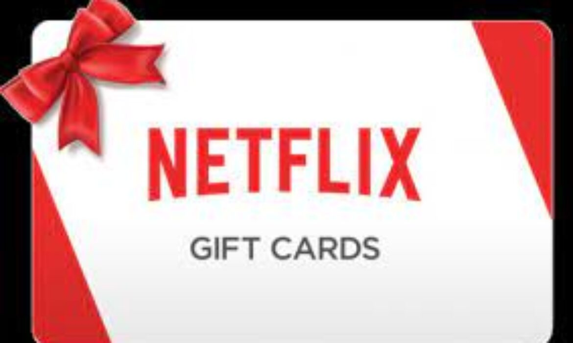 What you should know about Netflix gift cards
