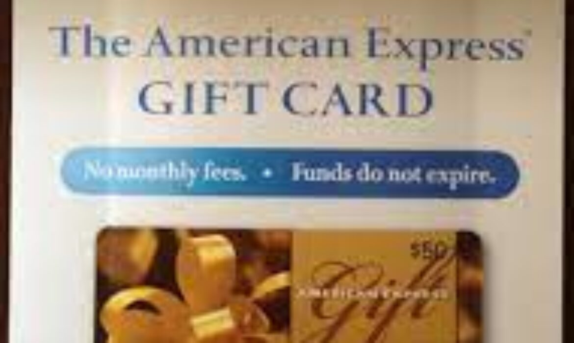 What you should know about AMEX gift card