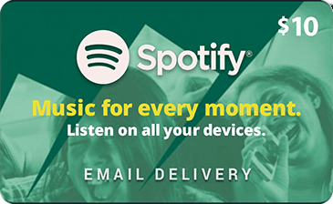 how to redeem spotify gift card