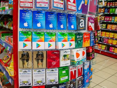 Popular Gift cards in 2021