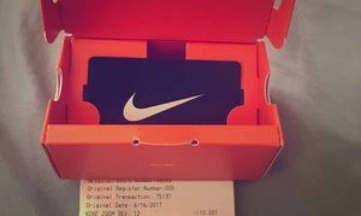 How to sell Nike gift cards to Naira